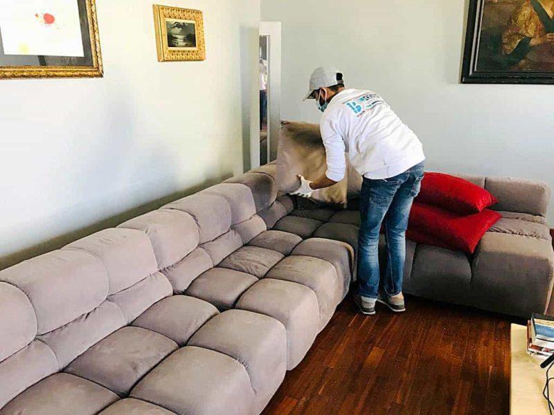 pulizia divano milano trattamento antiodore